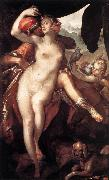SPRANGER, Bartholomaeus Venus and Adonis f oil painting picture wholesale