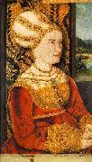 STRIGEL, Bernhard Portrait of Sybilla von Freyberg (born Gossenbrot) er oil painting picture wholesale