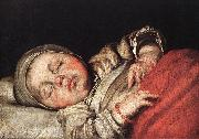 STROZZI, Bernardo Sleeping Child e oil painting picture wholesale