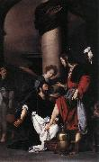STROZZI, Bernardo St Augustine Washing the Feet of Christ  fg oil painting picture wholesale