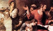 STROZZI, Bernardo Banquet at the House of Simon (detail) er oil painting picture wholesale