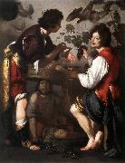 STROZZI, Bernardo Joseph Telling his Dreams t oil painting picture wholesale