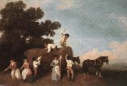 STUBBS, George Haymaking  t oil painting picture wholesale