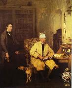 Sir David Wilkie The Letter of Introduction oil painting artist