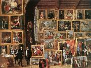 TENIERS, David the Younger The Gallery of Archduke Leopold in Brussels Spain oil painting reproduction