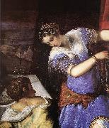TINTORETTO, Jacopo Judith and Holofernes (detail) s oil painting picture wholesale