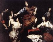 VALENTIN DE BOULOGNE The Judgment of Solomon  at oil painting picture wholesale
