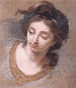 VIGEE-LEBRUN, Elisabeth Woman's Head iy oil painting artist