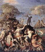 ZUCCHI, Jacopo The Coral Fishers awr oil painting