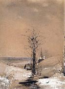 A.K.Cabpacob Early Spring oil painting reproduction