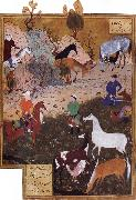 Bihzad King Darius and the Herdsman Spain oil painting artist