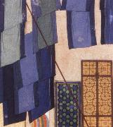 Bihzad Details from Caliph al Ma mun in his bath oil painting artist
