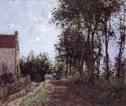 Camille Pissarro The Road near the farm La route pres de la ferme oil painting picture wholesale