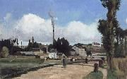 Camille Pissarro Banks of the Oise at Pontoise oil
