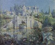 Colin Campbell Cooper A California Water Garden at Redlands oil painting picture wholesale