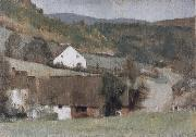 Fernand Khnopff In Fosset The Hamlet oil painting picture wholesale