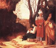 Giorgione Die drei Philosophen oil painting picture wholesale