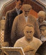 Grant Wood Returned from Bohemia oil painting picture wholesale