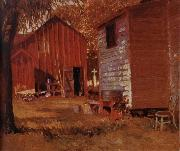 Grant Wood The Usual Place oil painting picture wholesale