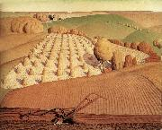Grant Wood Landscape oil painting picture wholesale