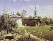 Isaac Levitan Golden Autumn,in the Village oil painting picture wholesale