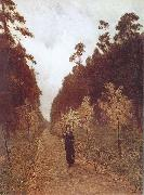 Isaac Levitan Autumn Day at Sokolniki oil painting picture wholesale