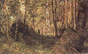 Ivan Shishkin Landscape with a Hunter oil painting picture wholesale