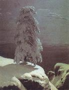 Ivan Shishkin A Pine there stands in the northern wilds oil painting picture wholesale