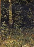 Ivan Shishkin Silver birch and mountain ash oil painting picture wholesale