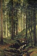 Ivan Shishkin The Brook in the Forest oil painting picture wholesale