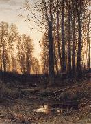 Ivan Shishkin Eventide-Sunset oil painting picture wholesale