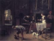 Jan Steen Easy come,easy go oil painting picture wholesale