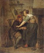 Jan Steen The Indiscreet inn guest oil painting picture wholesale