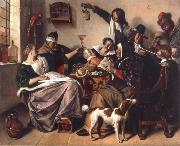 Jan Steen The Way hear it is the way we sing it oil painting picture wholesale