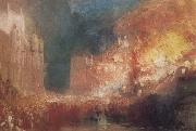 Joseph Mallord William Turner Houses of Parliament on Fire oil painting picture wholesale