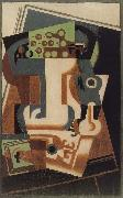 Juan Gris A long-stemmed oil painting picture wholesale