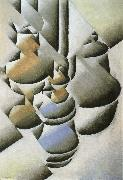 Juan Gris Still life oil lamp oil