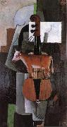 Kasimir Malevich Cow and fiddle oil painting picture wholesale
