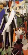 Kasimir Malevich An Englisher in Moscow oil painting picture wholesale