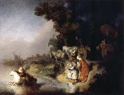 REMBRANDT Harmenszoon van Rijn The Rape of Europa oil painting picture wholesale
