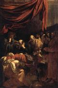 REMBRANDT Harmenszoon van Rijn Death of the Virgin oil painting picture wholesale