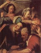REMBRANDT Harmenszoon van Rijn Christ Driving the Money-changers from the Temple oil painting picture wholesale
