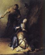 REMBRANDT Harmenszoon van Rijn Samson and Deliah oil painting picture wholesale
