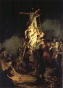 REMBRANDT Harmenszoon van Rijn The Descent from the Cross oil painting picture wholesale