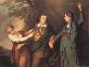REYNOLDS, Sir Joshua Garrick Between tragedy and comedy Spain oil painting artist