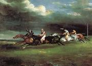 Theodore Gericault The Derby at epson oil painting picture wholesale
