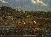 Thomas Eakins Biglin Brother-s Match oil painting picture wholesale