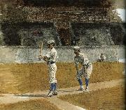 Thomas Eakins The Study of Baseball oil painting picture wholesale