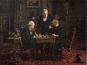 Thomas Eakins Chess Player oil painting picture wholesale