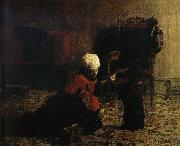 Thomas Eakins Elizabeth and the Dog oil painting reproduction